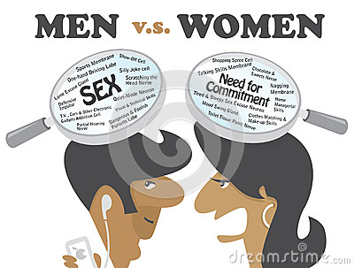 Hombres contra mujeres