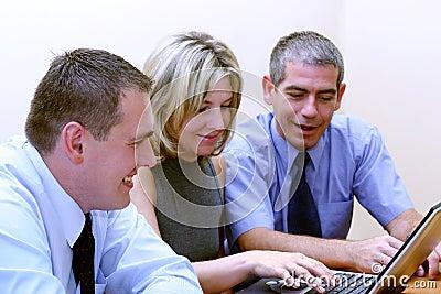 Hombres de negocios - ojeada WWW