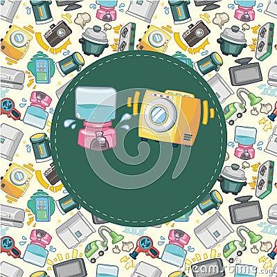 Home appliance card
