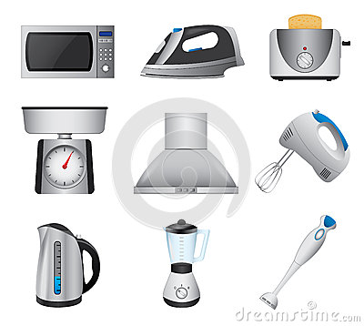 Free Home Appliances Stock Image - 31131321