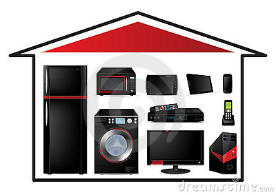 Home appliances concept