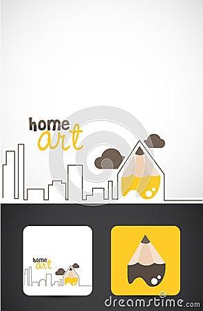 Home art logo