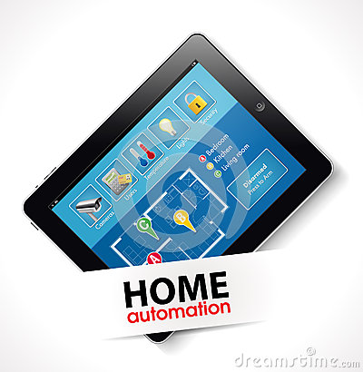 Home automation 2 stock photo image 36275570 for Home automation plan