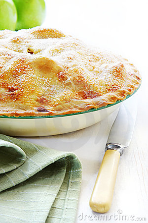 Free Home-baked Apple Pie Stock Image - 4019941