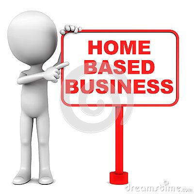 Home based business Stock Photo