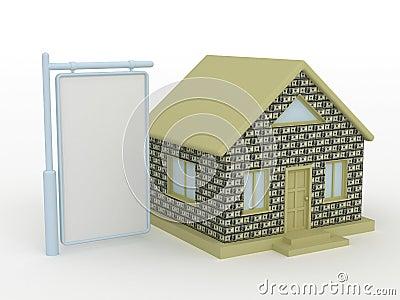 Home blank bax