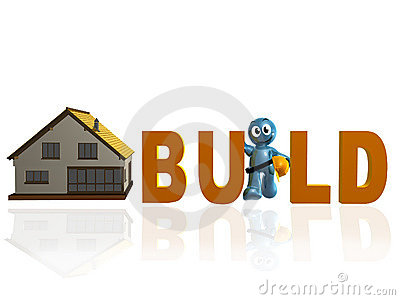 Home builder and maintenance icon