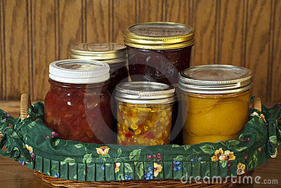 Home Canned Fruits and Vegetables