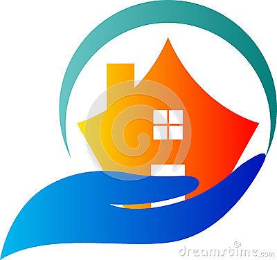 Home Care Logo Royalty Free Stock Image Image 25431026