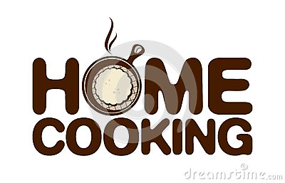 Home cooking icon.