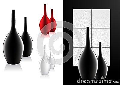 Home Decor Modern Vase Vector