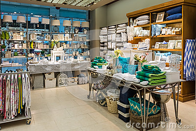 Home Decorations In Decorations Store Editorial Stock Photo