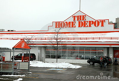 The Home Depot Editorial Photography