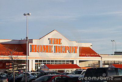 Home Depot Editorial Image