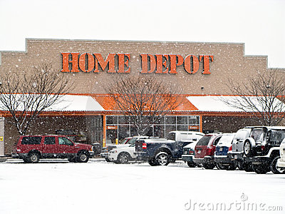 Home Depot Foto de Stock Editorial