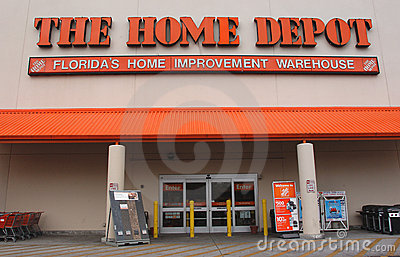 Home depot cuts 7000 jobs and closing stores Editorial Photography