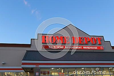 Home depot editorial stock image image 30130314 - Home depot port coquitlam ...