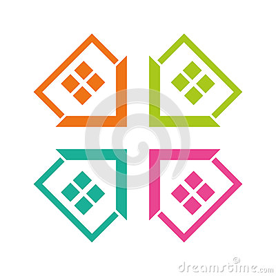 home design stock vector image 58703600 home design business card template design stock image