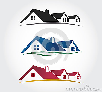 Home Design Icons Set , Roof Vector Set Stock Vector - Image: 39636792
