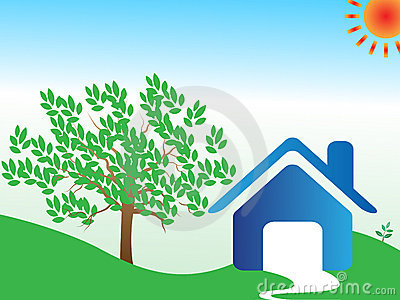 Home eco background