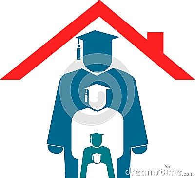 Home education logo