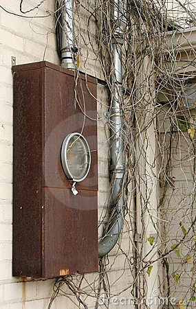 Free Home Electrical Meter Box Stock Photo - 4501340