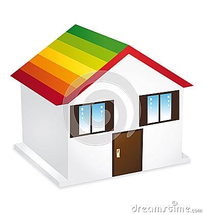 Home energy icon.