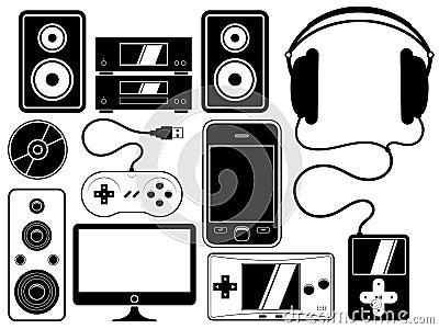 Home entertainment leisure device set