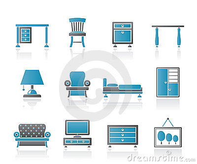 Home Equipment and Furniture icons