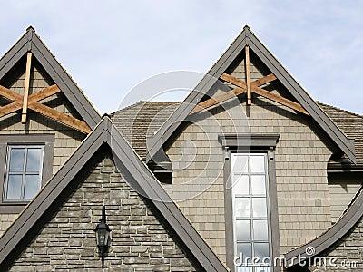 Home Exterior Roof Details
