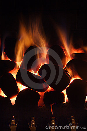 Home Gas fire
