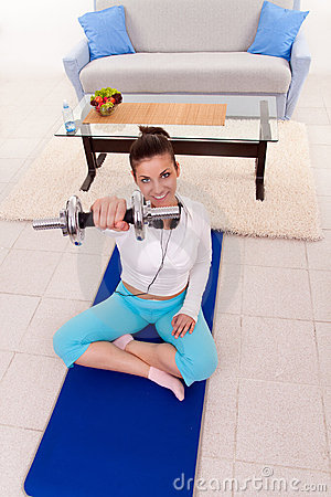 Home fitness training
