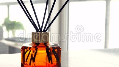 Home fragrance bottle, european luxury house decor and interior design  details