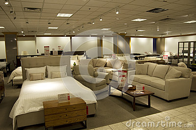 Home furniture department store stock photos image 34155093 for Department stores that sell furniture