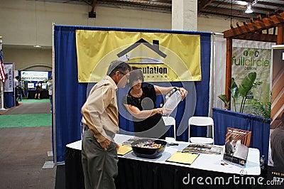 Home and Garden Show/Trade Show Editorial Stock Photo