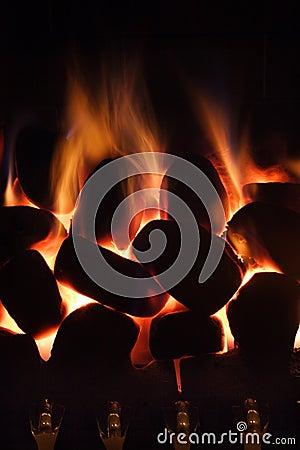 Free Home Gas Fire Stock Photos - 427963
