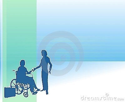 Home Healthcare Care Background