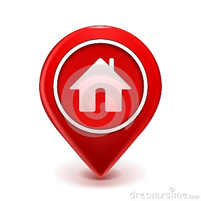 Home Icon Pin