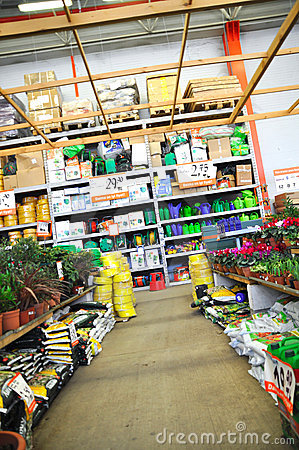 Home improvement store Editorial Stock Image