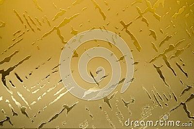Home interior design decorative glass detail.