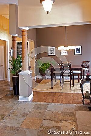Home interior dining room