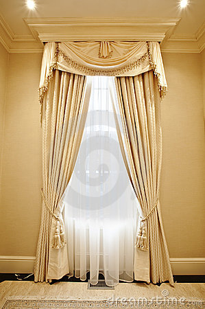 Free Home Interior: Drapery Royalty Free Stock Photo - 8877025