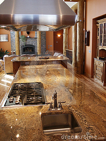 Free Home Interior Kitchen Royalty Free Stock Images - 2922919