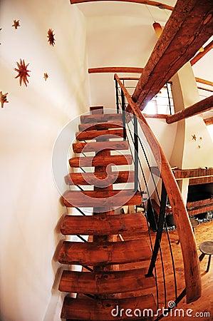 Home interior stairway