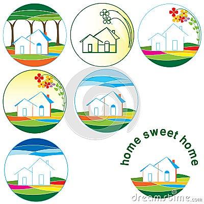 Home logos collection