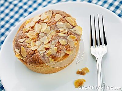 Home made Bakewell tart
