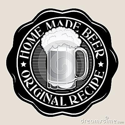 Home Made Beer / Original Recipe Seal