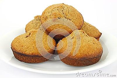 Home made bran muffins