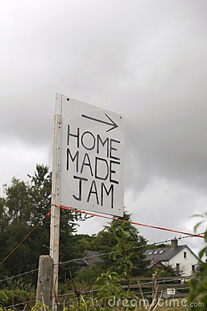 Home made jam for sale