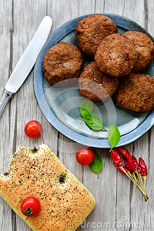 Free Home Made   Meat Balls Royalty Free Stock Photography - 113091947